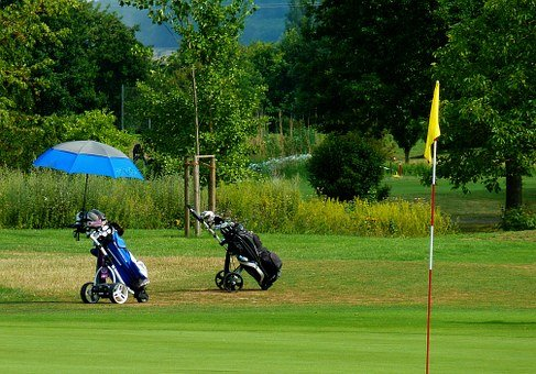Golf, Golf Course, Compensation, Training, Sport