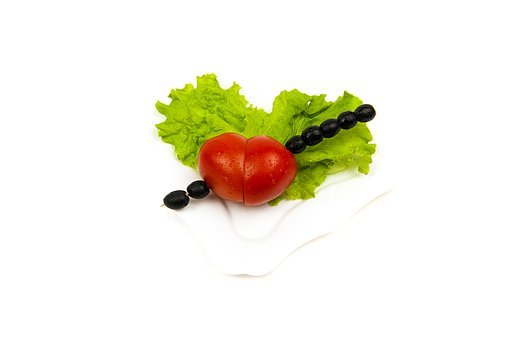 Tomatoes, Olives, Heart, Fresh, Vegetable, Healthy