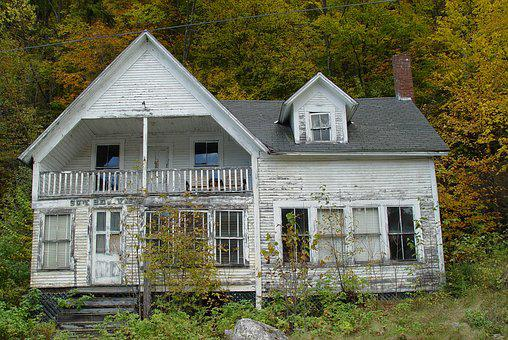 Haunted House, Vermont, Willoughby, Lakes, Mountains