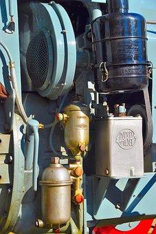 Machine, Motor, Diesel, Diesel Engine, Tractor