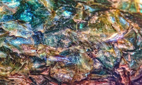 Abstract, Crystal, Metaphysical, Macro, Kyanite