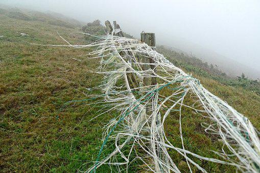 Wind, Breeze, Fence, Mist, Blow, Streamer, String