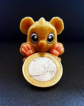 Monkey, Euro, Coin, Money, Currency, Loose Change