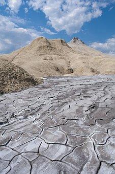 Muddy, Volcanos, Mud, Nature, Active, Natural, Ground