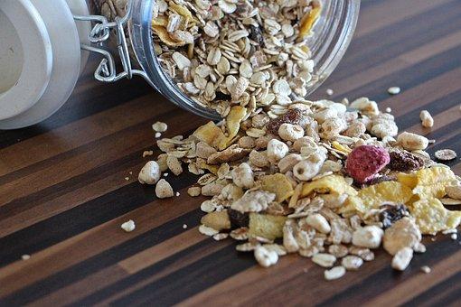 Muesli, Food, Eat, Fruits, Breakfast, Healthy, Cereals