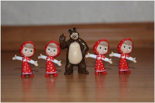 Bear, Mung, Baby Doll, Cartoon