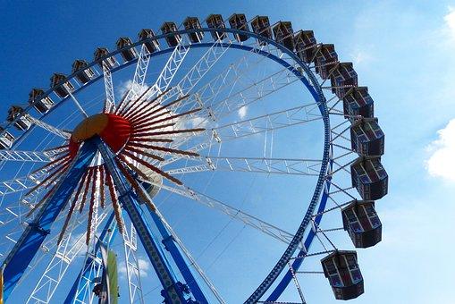 Ferris Wheel, Pointed Bummel, Oktoberfest, Munich