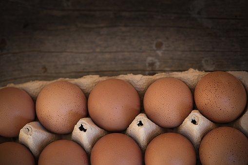 Egg, Chicken Eggs, Egg Box, Pack, Food, Nutrition