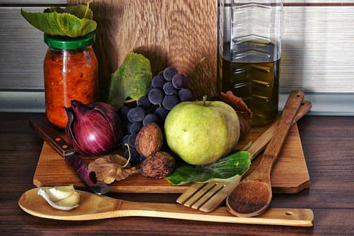 Food, Grapes, Onion, Olive Oil, Hungarian, Autumn