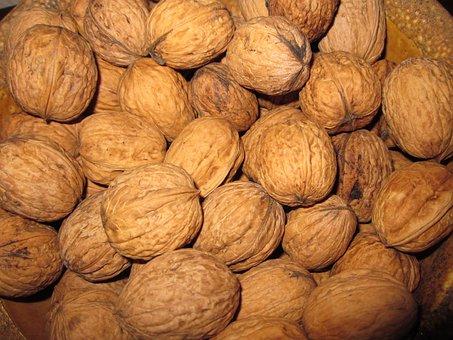 Nut, Nuts, Walnut, Christmas, Tasty, Food, Open
