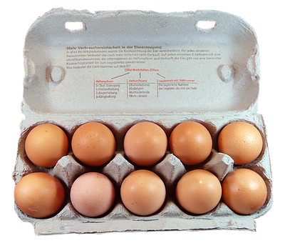 Egg, Pack, Food, Egg Box, Egg Carton, Chicken Eggs