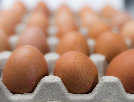 Eggs, Package, Multiple, Food, Carton