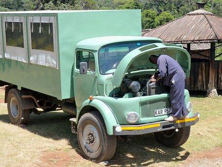 Transport, Panne, Maintenance, Engine Trouble