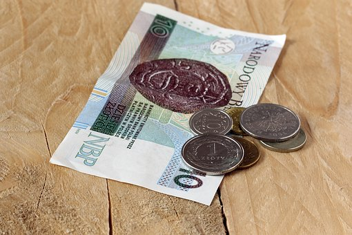 Buck, Money, Euro Banknotes, Safe, Polish Zloty