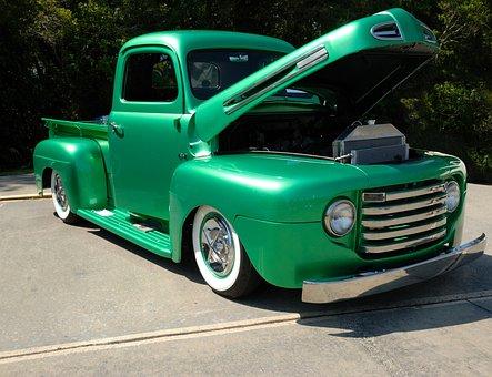 Pickup Truck, Customized, Show, Truck, Vehicle