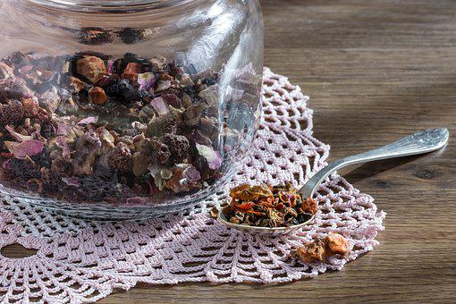 Tea, Dried Fruits, Dried Fruit, Teaspoon, Jar, Brewing