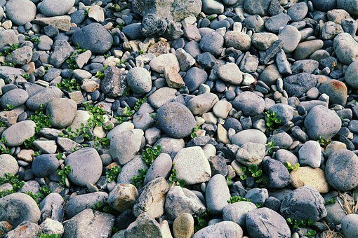 Stone, Gravel, Mont-dol, Geoje, Texture, Floor, Land
