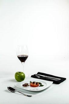 Still Life, Oil, Tomatoes, Food, Vegetables, Apples
