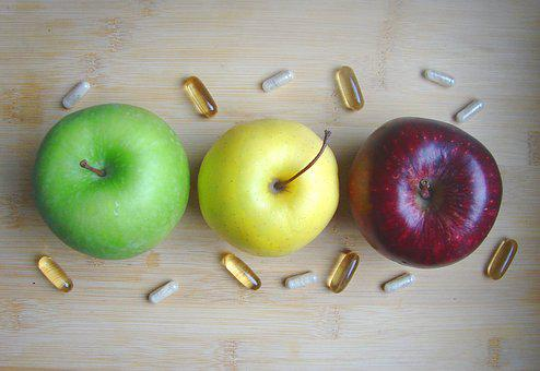 Apple, Fruit, Fruits, Vitamins, Delicious, Red, Sweet