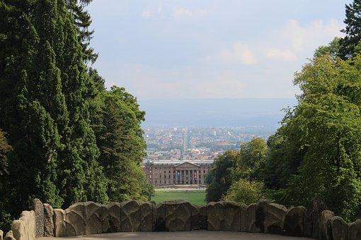 Kassel, Wilhelmshöhe, Mountain Park Wilhelmshöhe