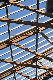 Roof, Skylight, Building, Architecture, Window, Metal