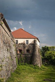 Castle, Ukraine, Uzhgorod, Architecture, Building