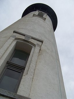 Lighthouse, Seashore, Beach, Bay, Beacon, Shore, Tower