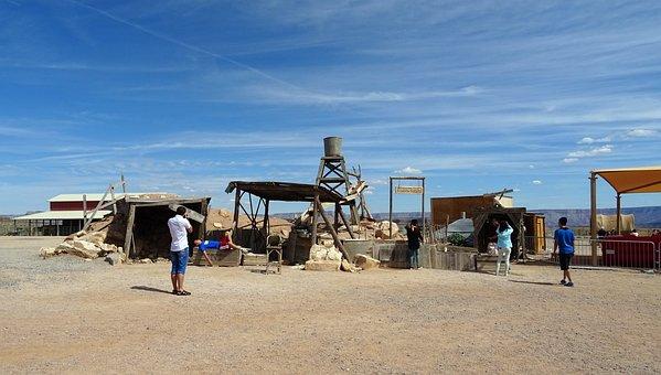 Ranch, Hualapai, Indian, Grand Canyon, Arizona, Usa