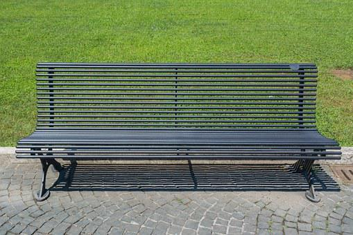Bench, The Vatican, Italy, Rome