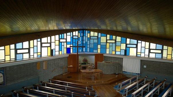 Church, Boghall, Mondrian