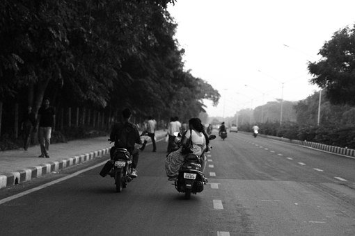 Road, India, Bike, Motorcycle, Driving, Journey