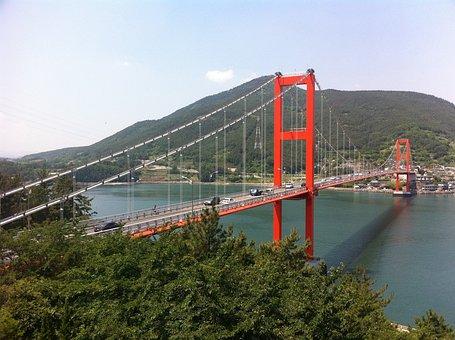 Namhae Bridge, Gyeongnam, In Autumn