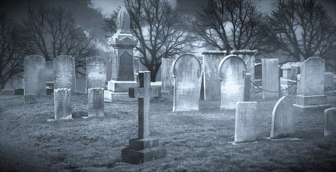 Cemetery, Grave, Graves, Tombstone, Old Cemetery, Trees