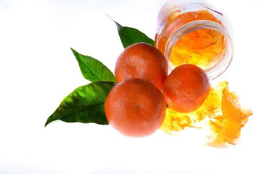Jam, Orange, Food, Sweets
