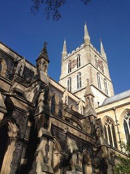 Southwark, Cathedral, London, Architecture, Uk, English