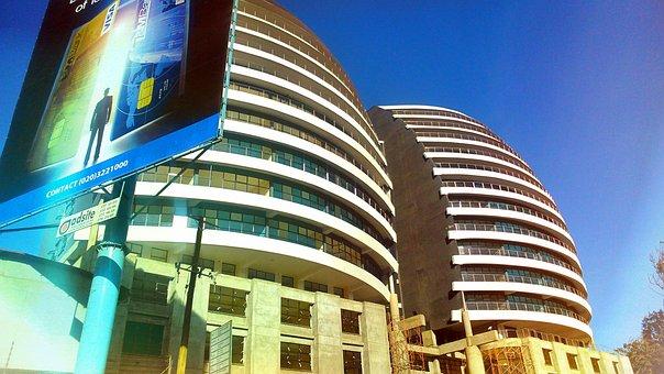 Nairobi, Kenya, Buildings, Skyline