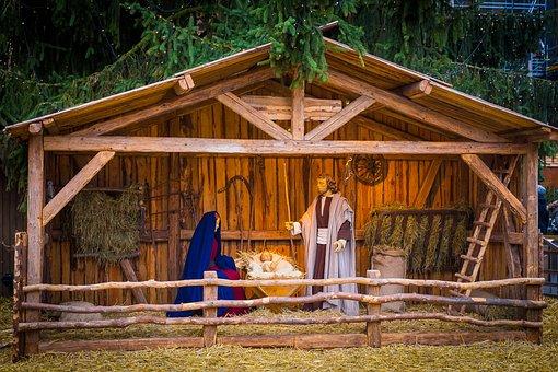 Nativity Scene, Christmas, Christmas Time