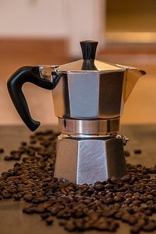 Coffee, Tea, Old Coffee Maker