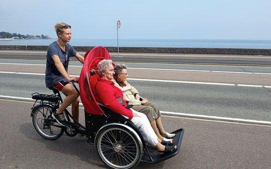 Cycling Without Age, Bicycle Taxi, Wind In The Hair