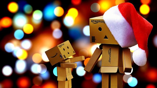 Danbo, Christmas, Figures, Funny, Children, Santa Hat