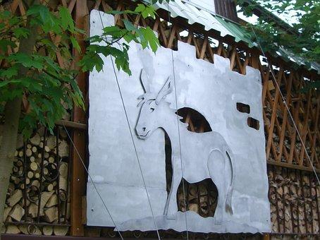 Eselsburg, Shield, Donkey, Sheet, Eselsburg Valley