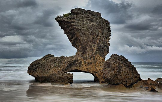South Africa, Ocean, Rock, Formation, Kenton On Sea