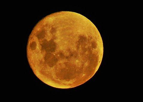 Luna Red, Sky, Full Moon