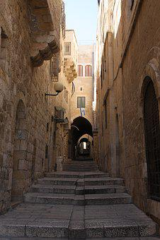 Jerusalem, Alley, Israel, Street, The Jewish Quarter