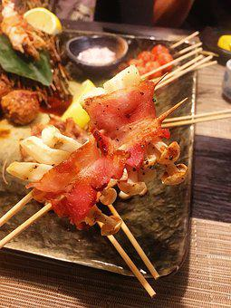Food, Yakitori, Japanese
