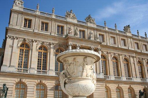 Paris, Versailles, Palace, Fecade