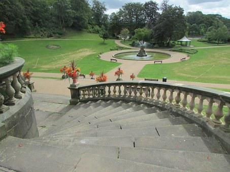 Preston, England, Stairs, Park