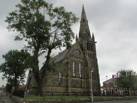Preston, England, Church, Old, City