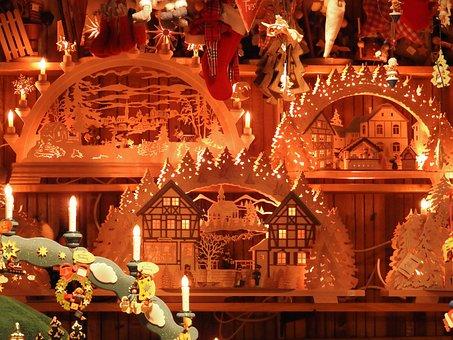 Christmas, Christmas Market, Stand, Christmas Time