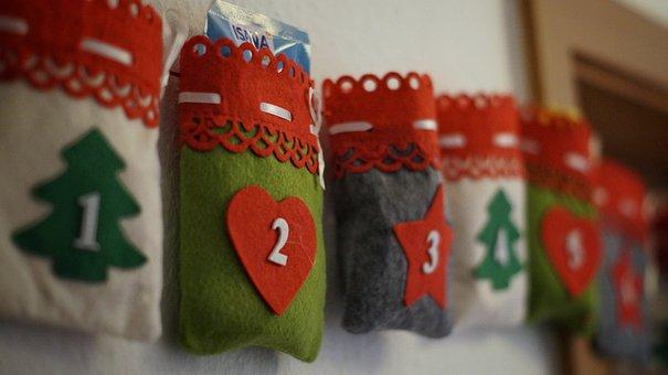 Advent Calendar, Advent, Christmas, Children, Surprise